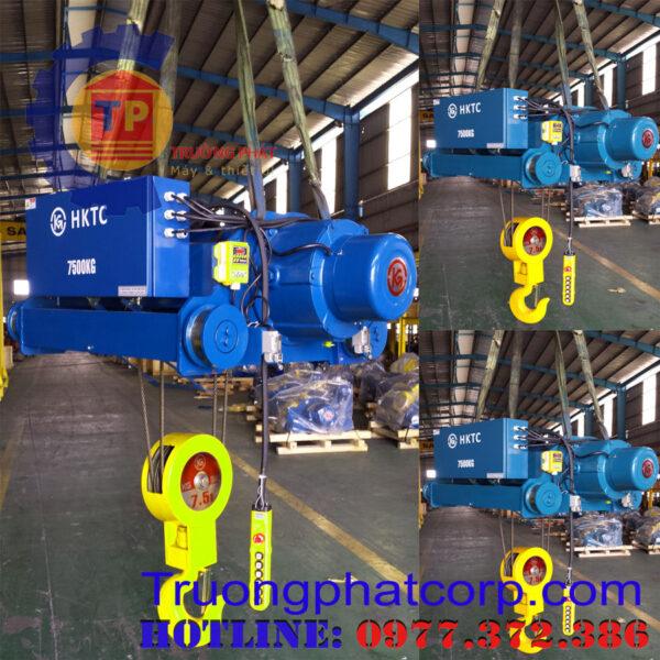 Pa lăng cáp điện 2 tấn 6 m